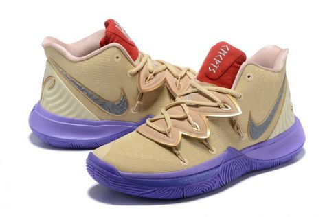 New Release Nike Kyrie 5 Wolf GreyPink Black