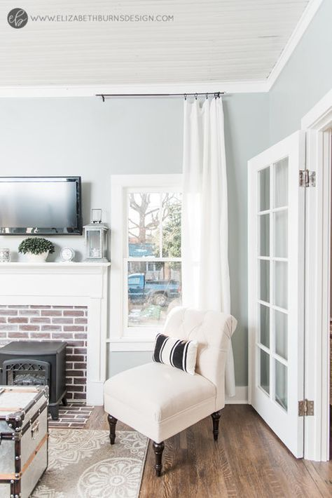 Whole House Paint Color Scheme With Photos Elizabeth Burns Design Raleigh Nc Interior Designer Grey Paint Living Room Light Blue Living Room Living Room Paint