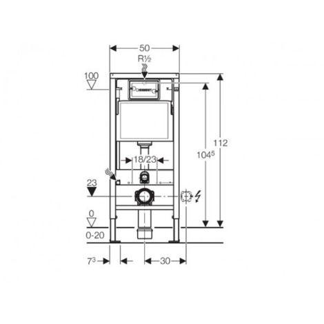 Geberit Set Wc Geberit Duofix Up100 Toilette Bowl Ideal Standard