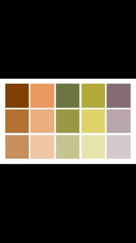 colour pallet for yoga studio