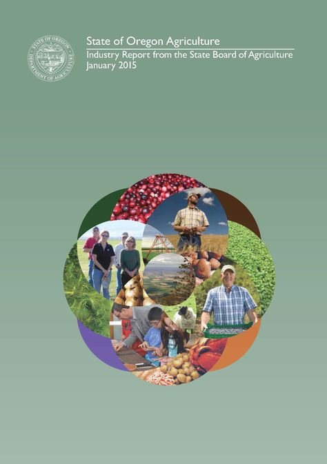 The state of Oregon agriculture, by the Oregon Department of Agriculture