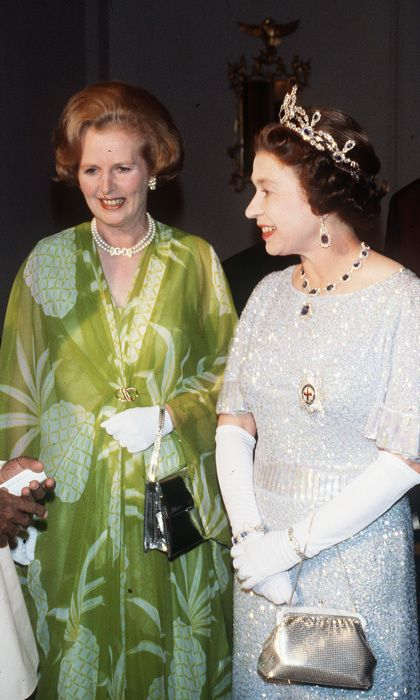 """LADIES FIRST, 1979: Margaret Thatcher became Britain's first female prime minister in May 1979, saying when she took office, """"Where there is discord, may we bring harmony."""" In August, she joined the Queen in Zambia to attend her first Commonwealth conference as PM. Photo: © Getty Images"""