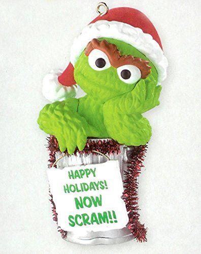Carlton Cards Heirloom Sesame Street Oscar The Grouch Christmas Ornament Sesame Street Christmas Carlton Cards Christmas Ornaments