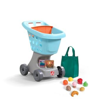 Step2 Little Helper S Toy Shopping Cart Play Food Set Play