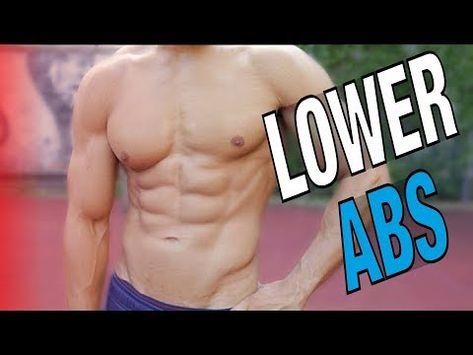 Cara Membentuk Lower Abs Di Gym Dan Rumah Youtube Bawah Perut Otot Perut Pembentukan Otot