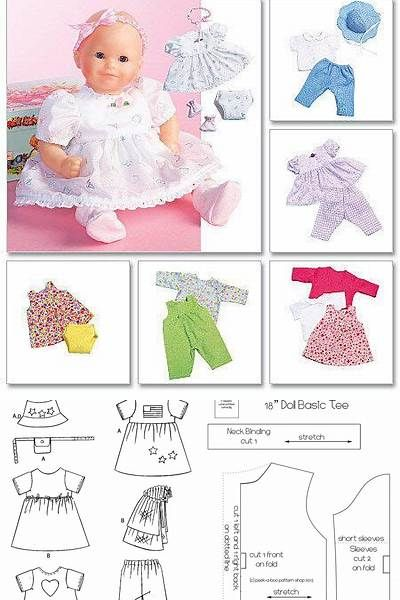 12 Inch Baby Doll Clothes Patterns Free Bing Images Baby Doll Clothes Patterns Dolls Clothes Diy Doll Clothes Patterns Free