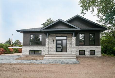 Détail du plan de Maison unifamiliale W3117 Architecture - maison contemporaine plan gratuit