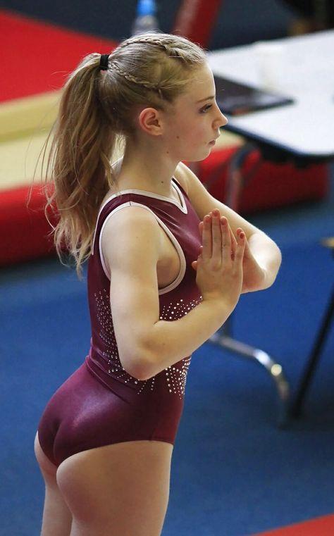 Guys pond hot gymnastic girl