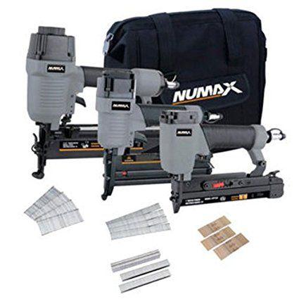 Numax Cs34pfncb 3 Piece Finishing Combo Kit Walmart Com In 2020 Combo Kit Brad Nailer Furniture Repair