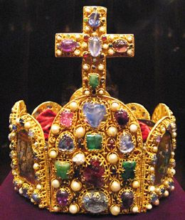 10th century Imperial Crown of Conrad II, Here you go StoneFinder, another one for the middle ages..........Noel