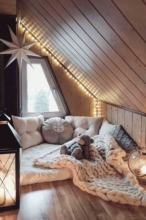 dream rooms for adults ; dream rooms for women ; dream rooms for couples ; dream rooms for adults bedrooms ; dream rooms for girls teenagers Room Ideas Bedroom, Home Decor Bedroom, Bedroom Rustic, Attic Bedroom Designs, Rustic Bedding, Modern Bedding, Decor Room, Luxury Bedding, Bedroom Furniture