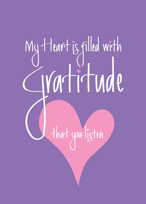 Thank You For Listening My Heart Is Filled With Gratitude Card Ad Paid Heart Listening F Thank You For Listening Gratitude Cards Handwritten Letters