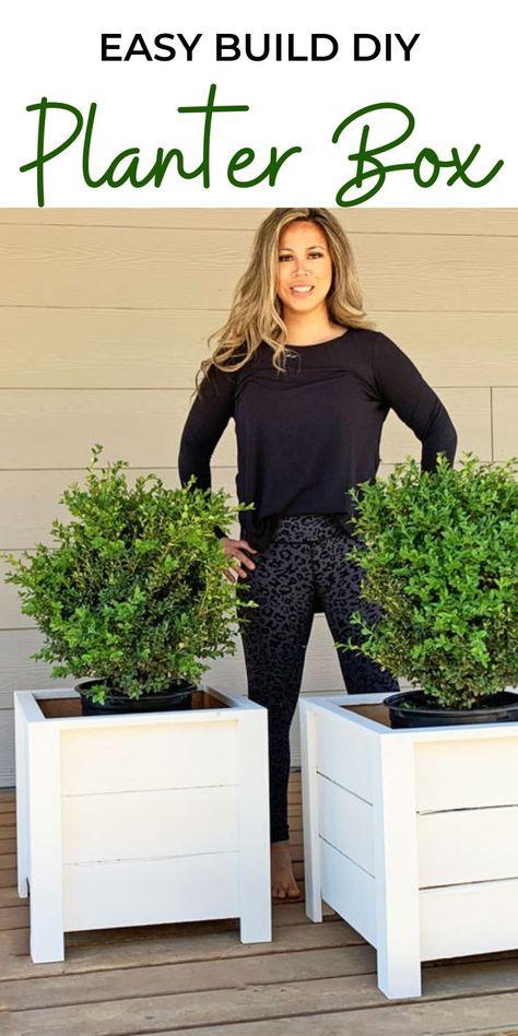 Easy Build DIY Planter Box   Ana White