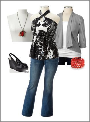 Update to the Plus Size Fashion Board: So Sophisticated Outfit