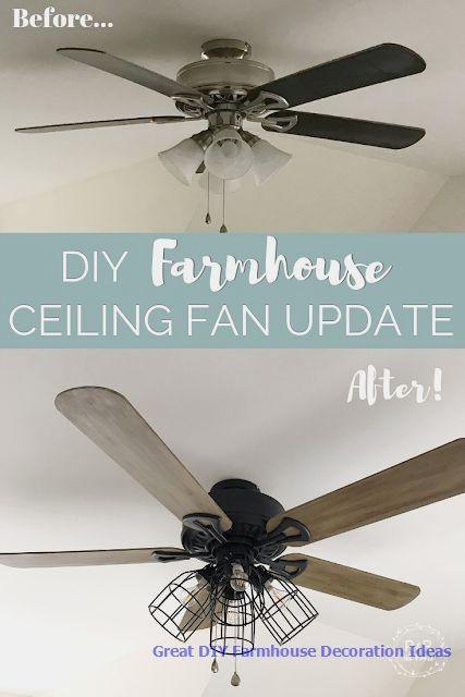 farmhouse magazine ceiling fan diy update 52 alyce 3 blade