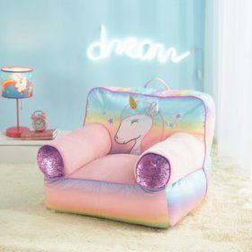 Swell American Kids Unicorn Bean Bag Sams Club Unicorn In Gamerscity Chair Design For Home Gamerscityorg