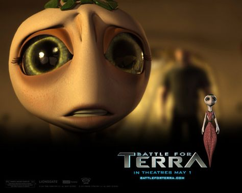 Animated Movies Wallpaper: Battle for Terra wallpaper