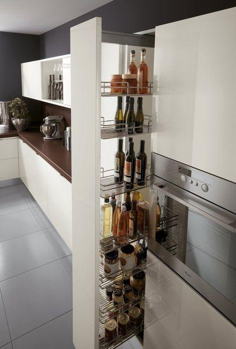 Cestelli Estraibili Per Colonna Cucina.Cucina Che Moduli Scelgo Per La Dispensa Arredamento