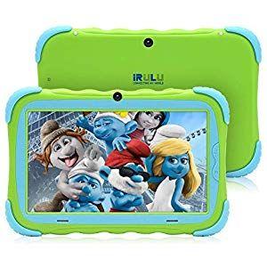 Tablet Pc Fur Kinder 7 Zoll Android 7 1 Ips Hd Bildschirm 1gb 16gb Babypad Pc Mit Wifi Kamera Spiele Google Play Store Blu Kinder Tablet Wifi Kamera Bildschirm