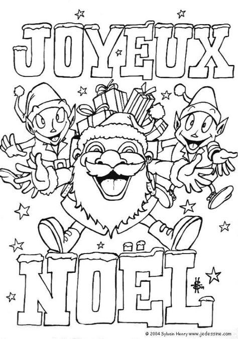 Coloriage A Imprimer Sur Noel Solosary Coloriage Joyeux Noel