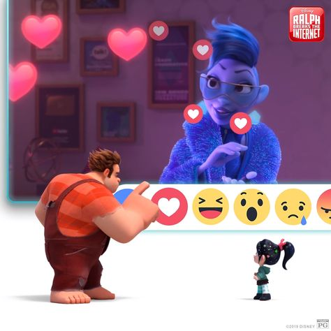 Share all your hearts for this beloved Academy Award-nominated film! Make it a movie night with #RalphBreaksTheInternet on Digital, Movies Anywhere, Blu-ray & 4K Ultra HD today.