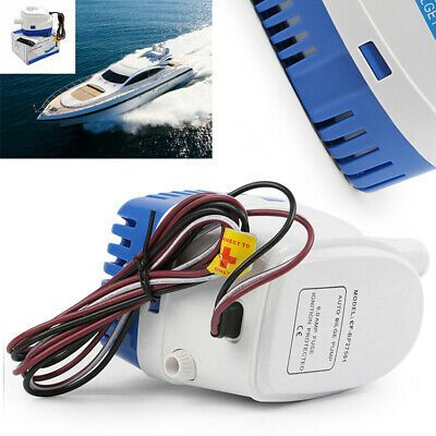 Boat Bilge Water Pump 1100GPH 24V Automatic Submersible Auto With Float Switch