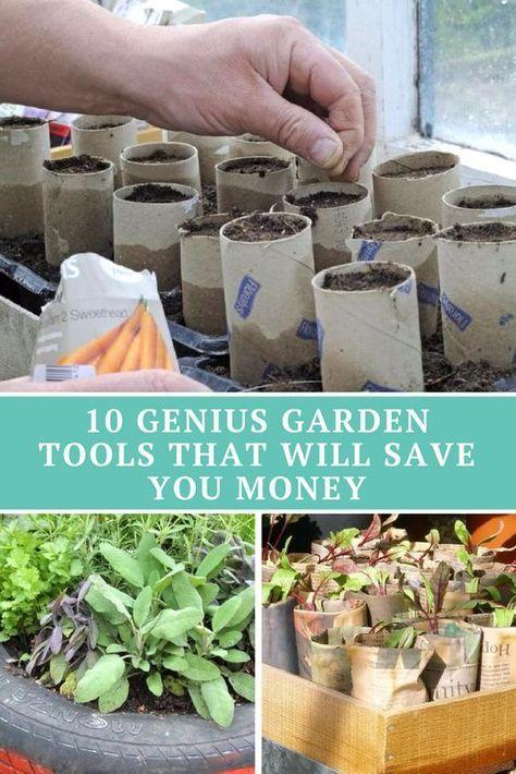 10 Genius Garden Tools That Will Save You Money Garden Tools