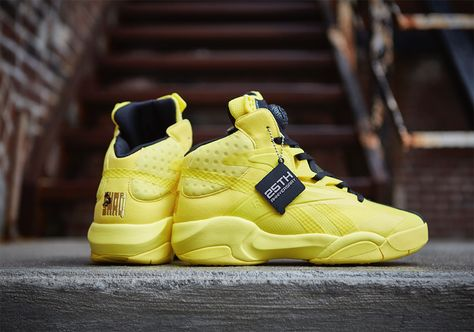 Reebok Shaq II Instapump - Reebok gave me a pair of these at a shoe clinic  I attended while working at Copeland's Sports. I wore them once. Crap sh…