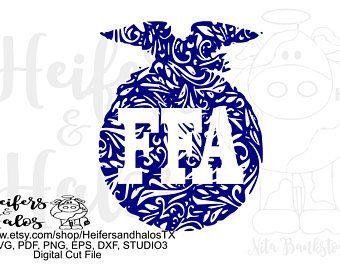 Ffa Svg File Etsy Ffa Emblem Ffa