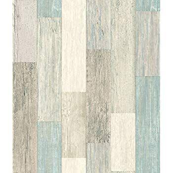Roommates Distressed Wood Peel And Stick Wallpaper Amazon Com Peelable Wallpaper Peel And Stick Wallpaper Wood Plank Wallpaper