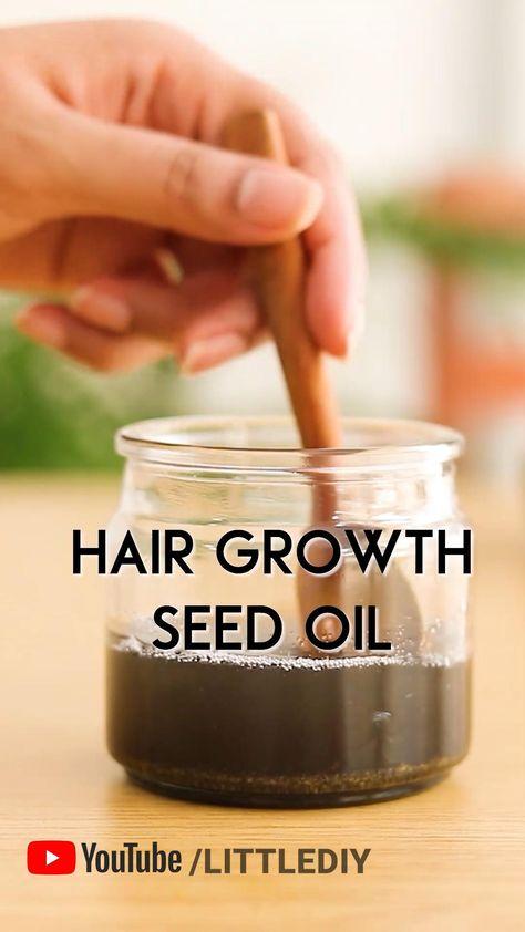 hair growth seeds hair oil