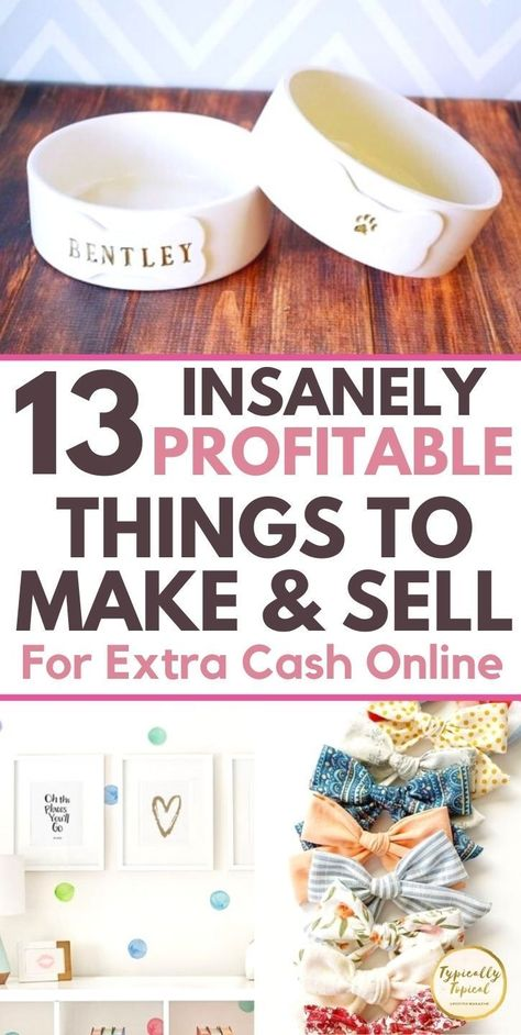 Crafts To Make And Sell, Sell Diy, Make Money From Home, Way To Make Money, Make Money Online, Money Making Crafts, How To Make, Etsy Business, Craft Business