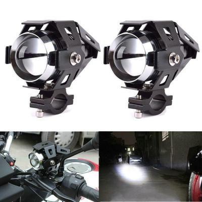 2x Moto Voiture Bateau Camion Cree U5 125w Led Blanche Lumiere De Brume Phare Projecteur Lampe