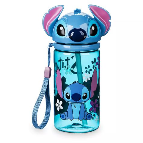Botella De Agua Stitch Disney Store In 2020 Top Drinks Disney