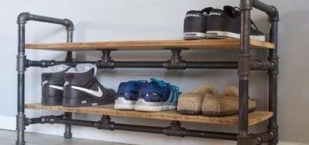 Hat Rack Diy Shoe Storage 61 Super Ideas Shoe Storage Small Space Small Space Diy Diy Storage