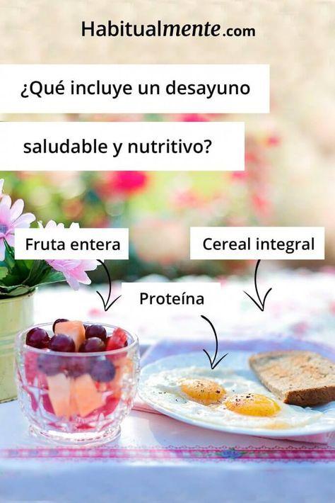 Incluye Un Súper Desayuno Nutritivo En Tu Día Con 5 Pasos Desayunos Nutritivos Desayuno Saludable Fácil Comida Fitness Recetas