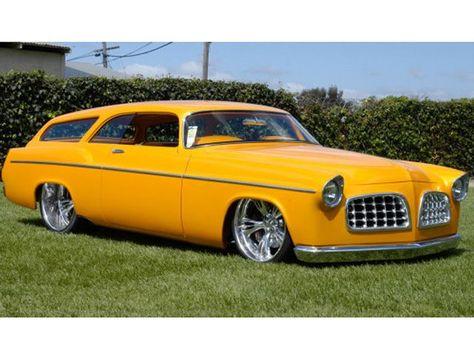 55 Chrysler wagon - awesome