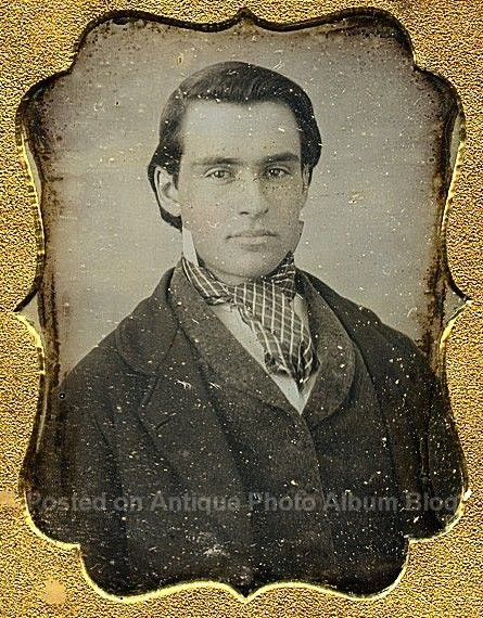 This guy needs to be posted on My Daguerreotype Boyfriend. Wow.