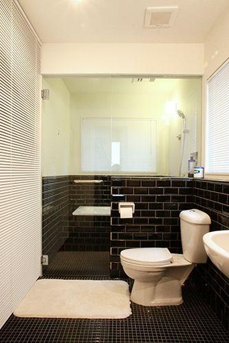 あなたのために建てる家 目黒r邸 バス トイレ一体のサニタリー