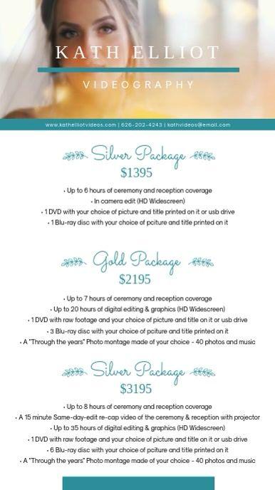 Wedding Planner Package List Design In 2020 Wedding Planner Packages Wedding Photography Pricing Wedding Service