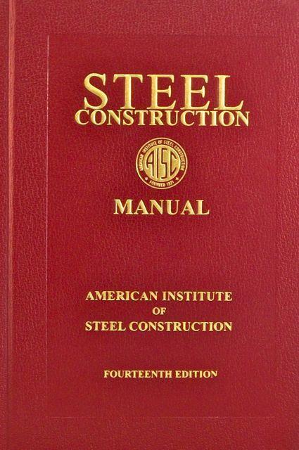 Aisc Steel Construction Manual American Institute Of Steel Construction 2015 Pdf Institute Construction Manual