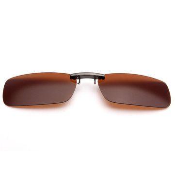 الاستقطاب كليب على النظارات الشمسية ليلة الرؤية عدسة كليب للنظارات الإطار المعدني Newchic موقع الجوال In 2020 Glasses Newchic