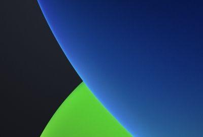 Ios 14 Iphone Wallpaper Dark Blue In 2020 Dark Blue Wallpaper 8k Wallpaper Wallpaper