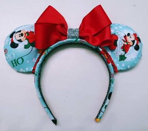 mickey and friends minnie ears christmas minnie ears custom minnie ears join in on all the christmas fun with these mickey and friends mouse ears