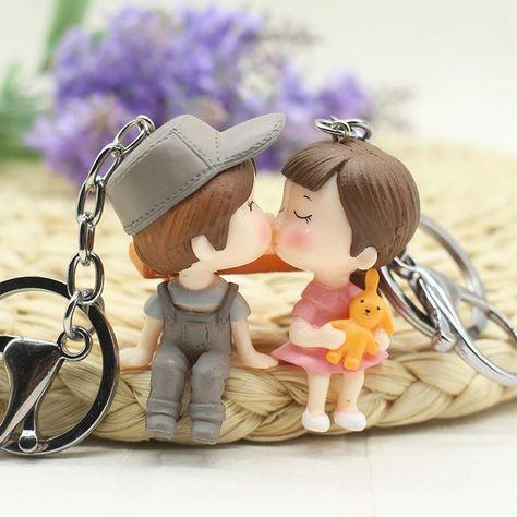 Couple Gift Keychain