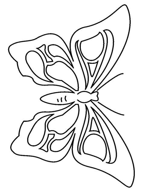 Farfalla Da Colorare Farfalle 123 Colorare Disegni Da