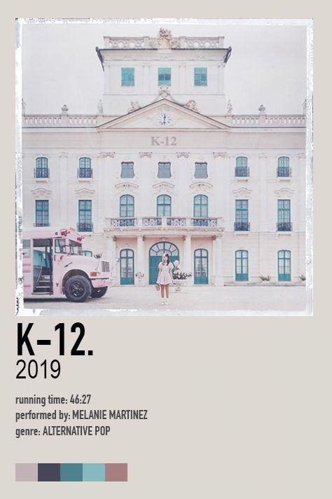 K 12 Album Poster In 2021 Melanie Martinez Music Poster Movie Poster Wall
