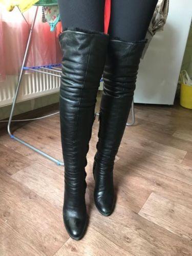 Loriblu Italienische Overknee Damen Stiefel Aus Butter Weich