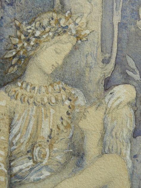 Moreau Gustave 1882 Les Plaintes Du Poete Drawings Dessin