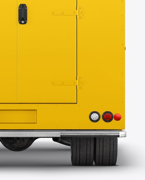 Download Food Truck Mockup Back View In Vehicle Mockups On Yellow Images Object Mockups Mockup Free Psd Free Psd Mockups Templates Psd Mockup Template PSD Mockup Templates